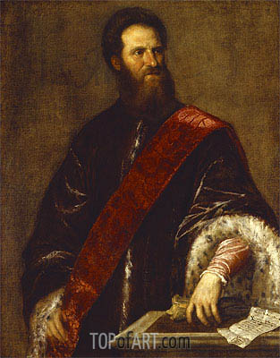Nicolo Zen, undated | Titian | Painting Reproduction