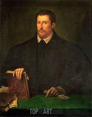 Titian | Portrait of Ippolito Riminaldi, c.1528