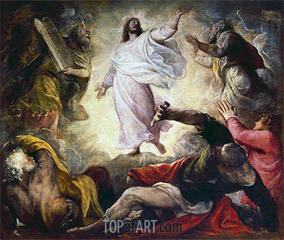 Transfiguration, 1560 | Titian | Painting Reproduction