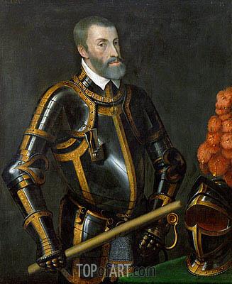 Titian | Emperor Carlos V (The Sun Never Set), undated