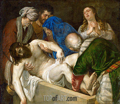 Titian | Entombment of Christ, 1560