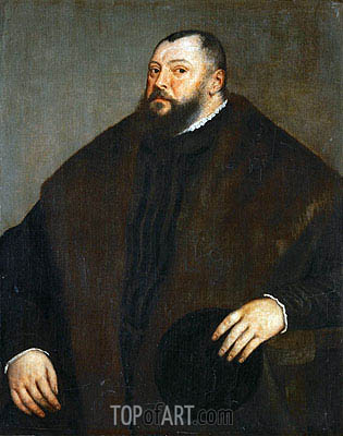 Elector Johann Friedrich of Saxony, c.1550/51 | Titian | Painting Reproduction