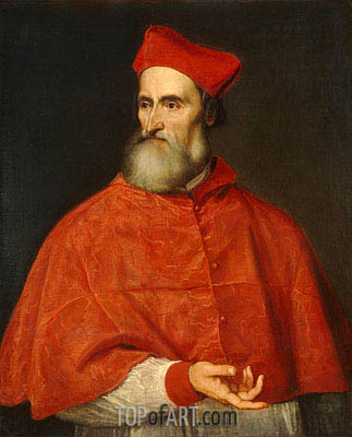 Cardinal Pietro Bembo, c.1540 | Titian | Painting Reproduction