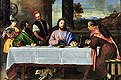 The Supper at Emmaus | Tiziano Vecellio Titian