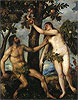 Adam and Eve | Tiziano Vecellio Titian