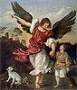 Raphael and Tobias | Tiziano Vecellio Titian