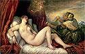 Danae | Tiziano Vecellio Titian