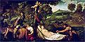 Pardo Venus or Jupiter and Antiope   Tiziano Vecellio Tizian