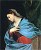 Virgin (The Averoldi Polyptych) | Tiziano Vecellio Titian