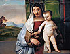 The Gypsy Madonna | Tiziano Vecellio Tizian