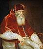 Pope Paul III Farnese | Tiziano Vecellio Tizian