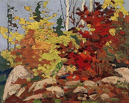 Autumn Scene, c.1916 von Tom Thomson | Gemälde-Reproduktion