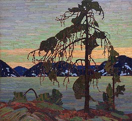 The Jack Pine, c.1916/17 von Tom Thomson | Gemälde-Reproduktion
