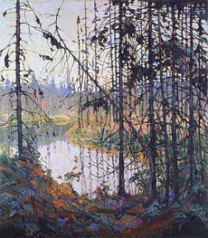 Northern River, 1915 von Tom Thomson | Gemälde-Reproduktion