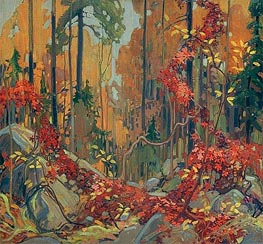 Autumn's Garland | Tom Thomson | outdated