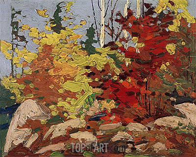 Autumn Scene, c.1916 | Tom Thomson| Painting Reproduction