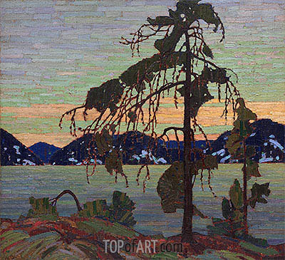 The Jack Pine, c.1916/17 | Tom Thomson| Painting Reproduction