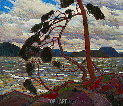 The West Wind, c.1916/17 | Tom Thomson| Painting Reproduction