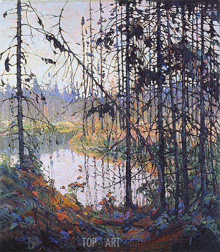 Northern River, 1915 | Tom Thomson | Gemälde Reproduktion