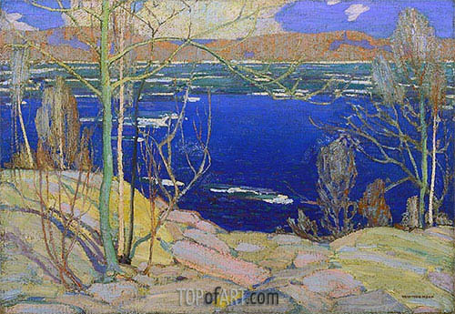 Spring Ice, 1916 | Tom Thomson | Gemälde Reproduktion