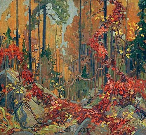 Tom Thomson | Autumn's Garland, c.1915/16
