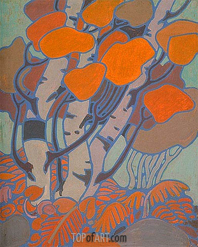 Tom Thomson   Decorative Panel IV, c.1915/16