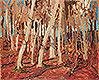 Maple Woods, Bare Trunks | Tom Thomson