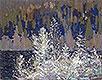 Frost-laden Cedars, Big Cauchon Lake | Tom Thomson
