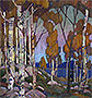 Decorative Landscape: Birches | Tom Thomson