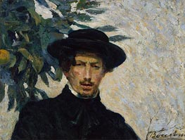 Self-Portrait, 1905 by Umberto Boccioni | Painting Reproduction
