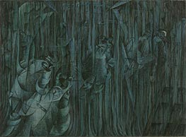 States of Mind III: Those Who Stay, 1911 by Umberto Boccioni | Painting Reproduction