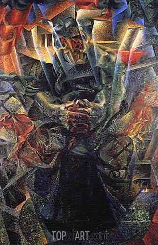 Materia, 1912 | Umberto Boccioni | Gemälde Reproduktion