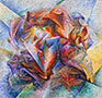 Dynamism of a Soccer Player, 1913 | Umberto Boccioni
