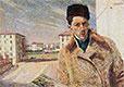 Self-Portrait, 1908 | Umberto Boccioni