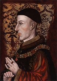 König Heinrich V, 16th c von Unknown Master | Gemälde-Reproduktion