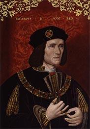 König Richard III, late 16th c von Unknown Master | Gemälde-Reproduktion