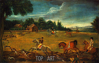 The End of the Hunt, c.1800 | Unknown Master | Painting Reproduction