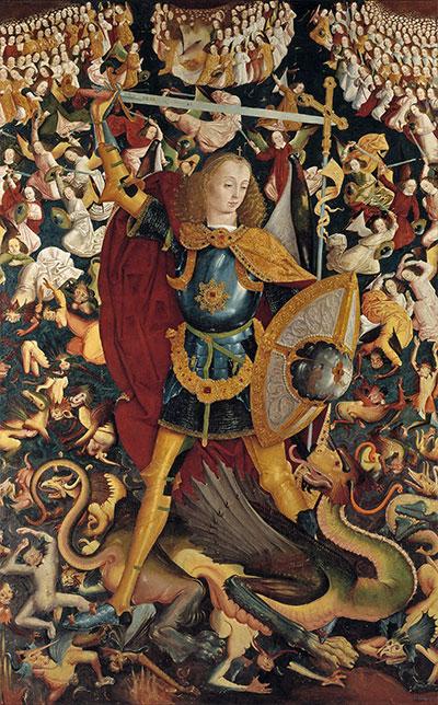 Unknown Master | Der Erzengel Michael, c.1495