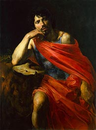 Samson, c.1630 by Valentin de Boulogne | Painting Reproduction