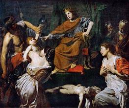 Judgment of Solomon | Valentin de Boulogne | Painting Reproduction