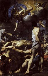 Martyrdom of St. Processus and St. Martinian, c.1629/30 by Valentin de Boulogne | Painting Reproduction