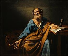Saint Mark | Valentin de Boulogne | Painting Reproduction