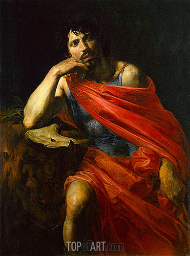 Samson, c.1630 | Valentin de Boulogne| Painting Reproduction