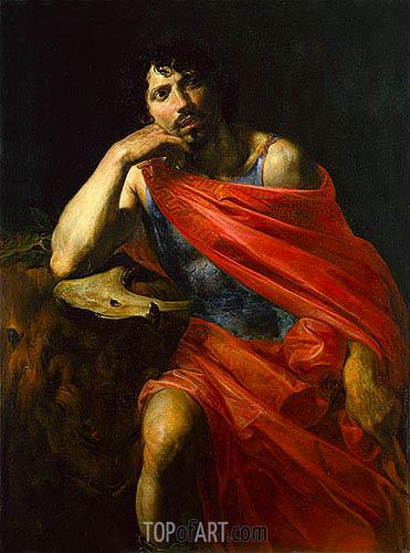 Valentin de Boulogne | Samson, c.1630