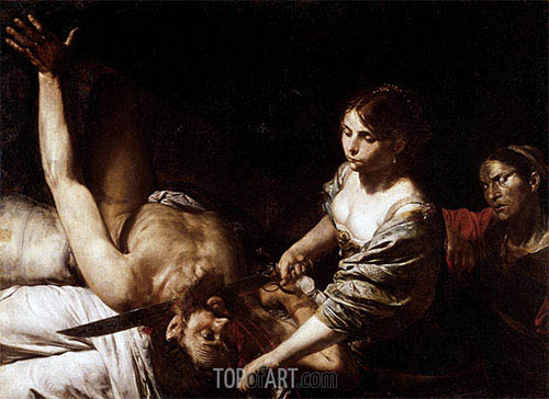 Judith Beheading Holofernes, undated | Valentin de Boulogne | Painting Reproduction