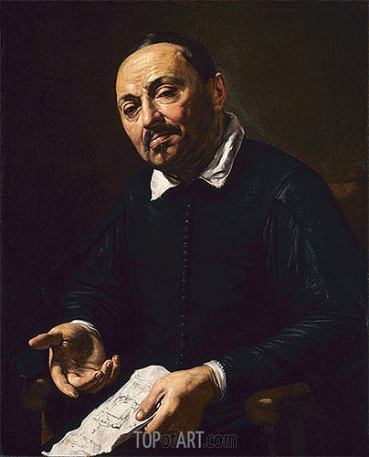 Rafaello Menicucci, c.1630/32 | Valentin de Boulogne| Painting Reproduction