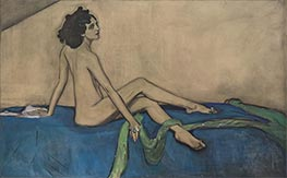 Portrait of Ida Rubenstein, 1910 by Valentin Serov | Painting Reproduction