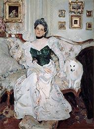 Portrait of Princess Zinaida Yusupova, 1902 by Valentin Serov | Painting Reproduction