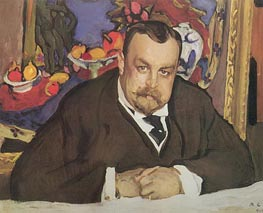 Portrait of Ivan Morozov | Valentin Serov | outdated