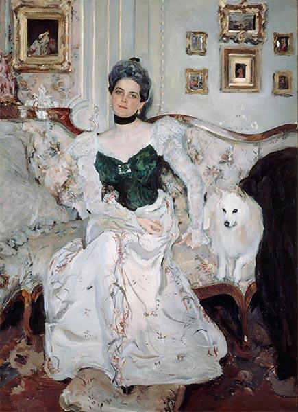 Valentin Serov | Portrait of Princess Zinaida Yusupova, 1902